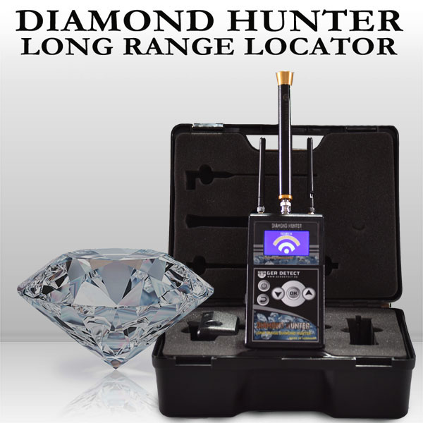 Dispositivo DIAMOND HUNTER LOCALIZADOR DE SISTEMAS DE LARGO ALCANCE