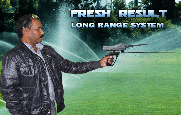 Water detector underground - FRESH RESULT 1 SYSTEM 1 system device
