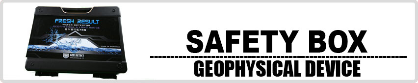 Fresh Result 2 System safty box for geophysical device