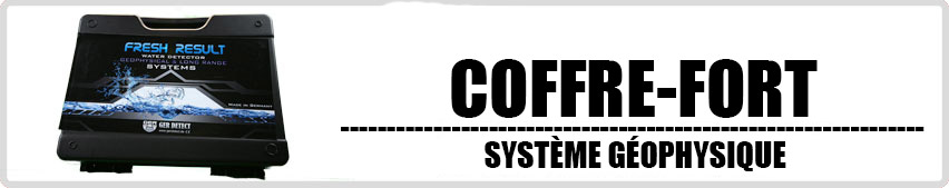 FRESH RESULT 2 System Coffre-fort systeme geophysique