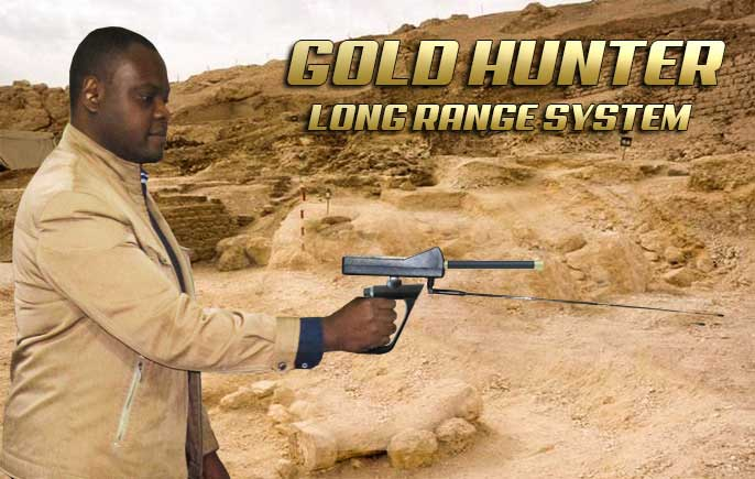 GOLD HUNTER Gemstones Detector