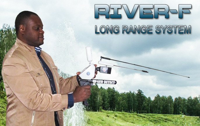 River-F Device LONG RANGE WATER DETECTOR