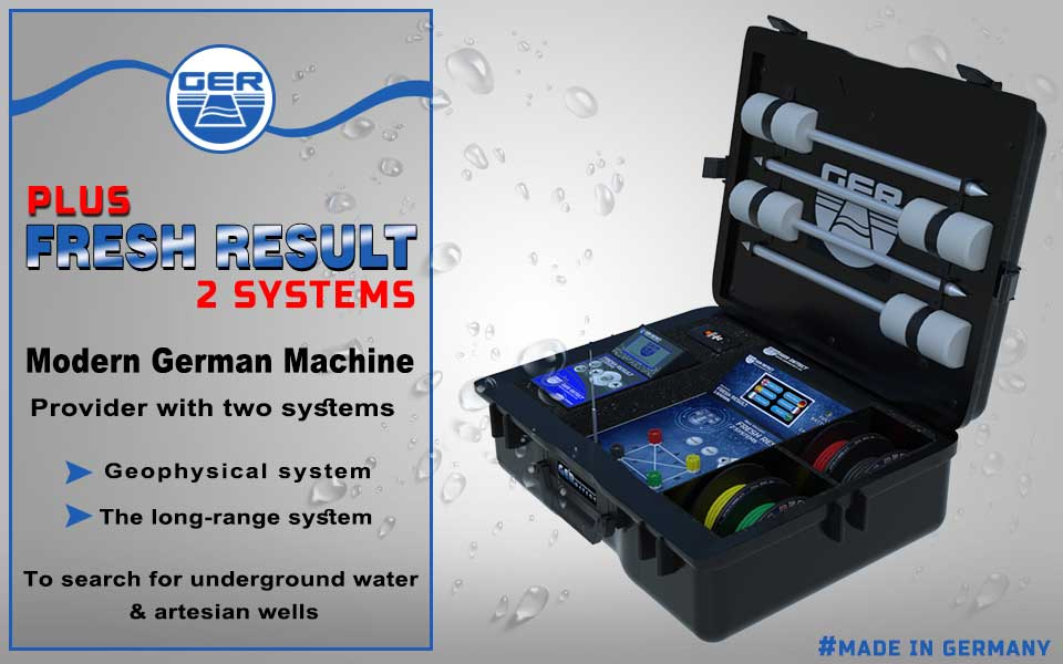 Fresh Result 2 Systems Plus Device - water Detector - UIG