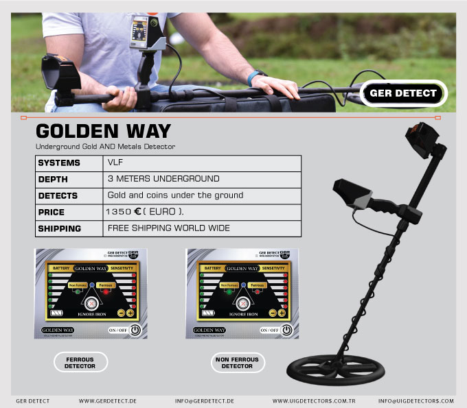 >Brochure for GOLDEN WAY device