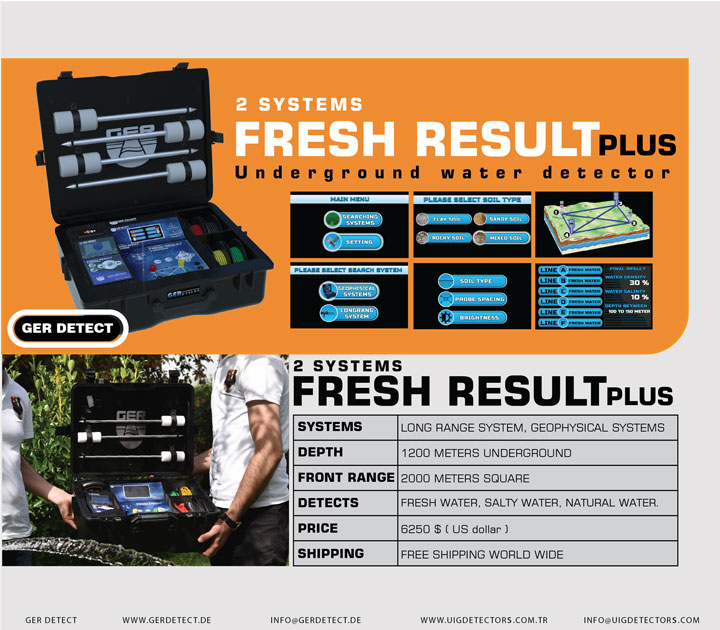 Brochure for FRESH RESULT 2 SYSTEMS PLUS device