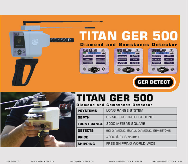 Brochure for TITAN GER - 500 PLUS device