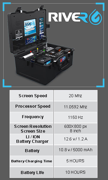 Technical specifications of RIVER G device