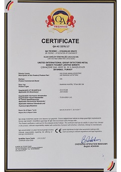 certificate of authorization diamond gemstone detectors