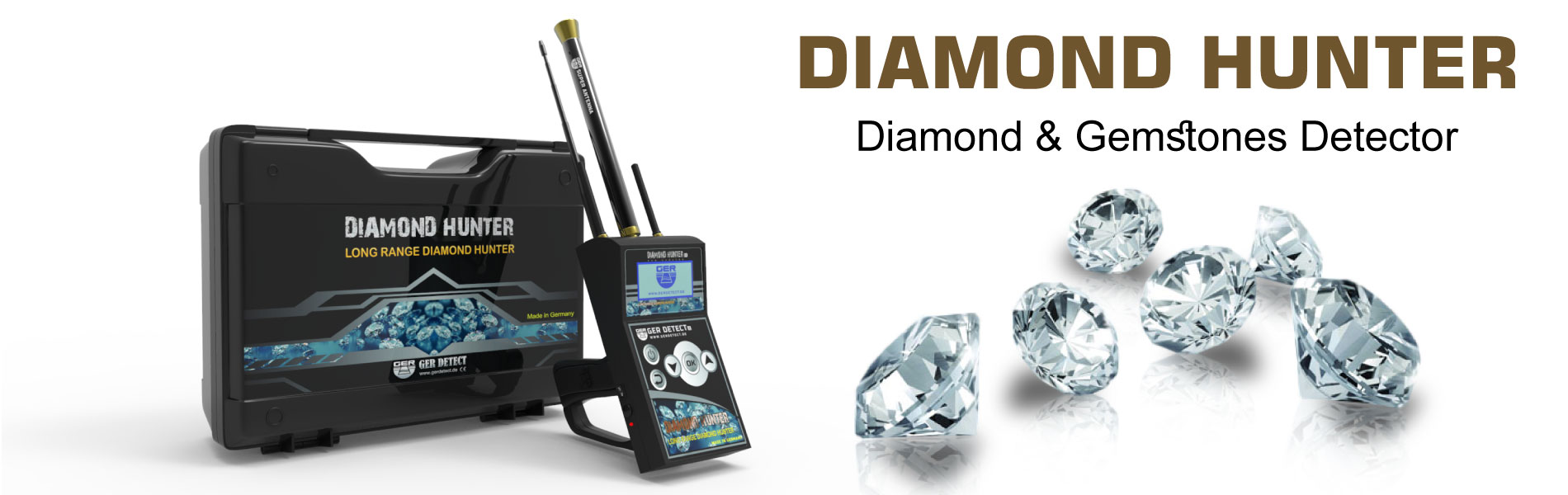 Diamond Hunter Device - diamond Detector - UIG DETECTORS COMPANY