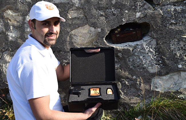 Easy Way Device 3D Imaging System gold and metals and underground caves Locator