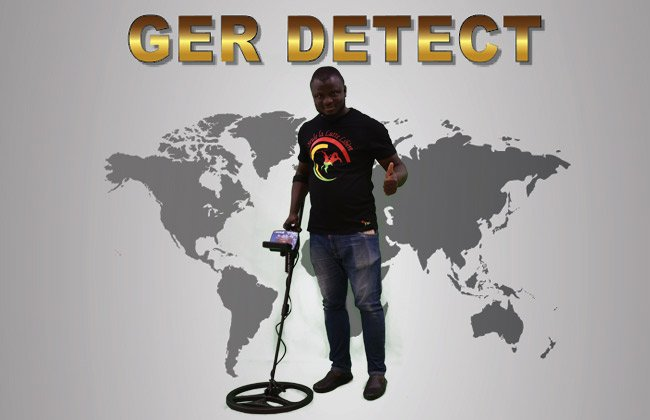 TITAN GER - 1000 Device, 5 SYSTEMS Underground Gold , Metal and Treasures Detector