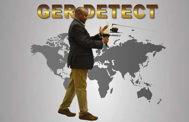 TITAN GER - 500 Device LONG RANGE DIAMOND AND GEMSTONES DETECTOR Underground Diamond and Gemstones Detector