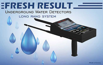 FRESH RESULT DEVICE , New German underground Water Detector