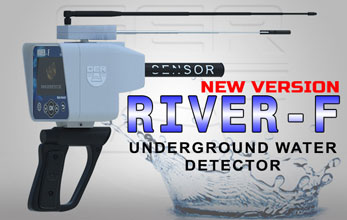 River-F Plus, long range Water locator