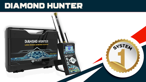 Diamond Hunter, Gemstone underground Finder