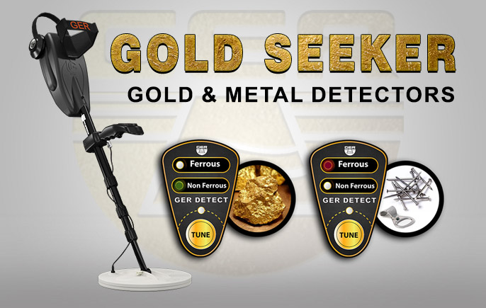 Gold seeker with Pulse Induction System