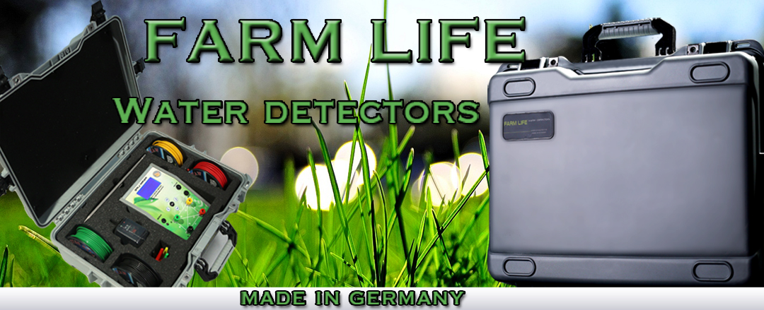underground water source detector - farm life device